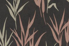 541946 cikkszámú tapéta.Csillámos,természeti mintás,arany,fekete,pink-rózsaszín,lemosható,vlies tapéta
