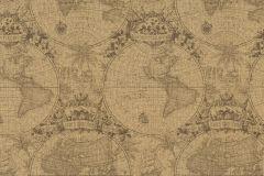 938913 cikkszámú tapéta.Geometriai mintás,különleges felületű,különleges motívumos,rajzolt,retro,barna,lemosható,vlies tapéta