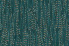 550245 cikkszámú tapéta.állatok,különleges felületű,arany,türkiz,lemosható,vlies tapéta