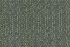 550351 cikkszámú tapéta.3d hatású,különleges felületű,arany,zöld,lemosható,vlies tapéta