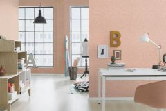550443 cikkszámú tapéta.Egyszínű,textilmintás,pink-rózsaszín,lemosható,illesztés mentes,vlies tapéta