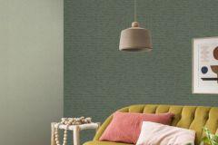 550450 cikkszámú tapéta.Egyszínű,textilmintás,zöld,lemosható,illesztés mentes,vlies tapéta