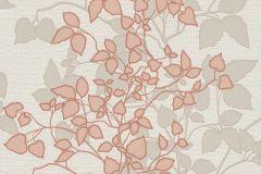 730296 cikkszámú tapéta.Természeti mintás,bézs-drapp,narancs-terrakotta,szürke,lemosható,vlies tapéta