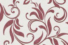732528 cikkszámú tapéta.Barokk-klasszikus,fehér,piros-bordó,lemosható,vlies tapéta