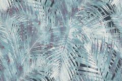 805321 cikkszámú tapéta.Különleges felületű,különleges motívumos,retro,természeti mintás,kék,lila,türkiz,zöld,lemosható,vlies tapéta
