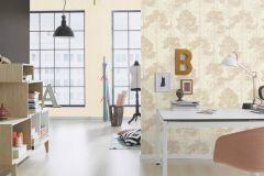 410822 cikkszámú tapéta.Különleges felületű,rajzolt,természeti mintás,barna,bézs-drapp,lemosható,vlies tapéta