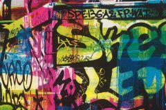 291506 cikkszámú tapéta.Feliratos-számos,gyerek,rajzolt,fehér,fekete,kék,pink-rózsaszín,piros-bordó,sárga,zöld,gyengén mosható,papír tapéta
