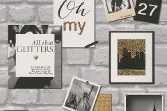 291605 cikkszámú tapéta.Feliratos-számos,gyerek,kőhatású-kőmintás,rajzolt,tájkép,barna,fehér,fekete,sárga,szürke,gyengén mosható,papír tapéta