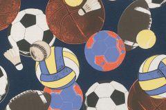 502947 cikkszámú tapéta.Gyerek,rajzolt,barna,bézs-drapp,fehér,fekete,kék,piros-bordó,sárga,lemosható,vlies tapéta