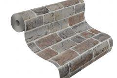 217339 cikkszámú tapéta.Kőhatású-kőmintás,különleges felületű,barna,szürke,gyengén mosható,papír tapéta