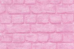 226805 cikkszámú tapéta.Kőhatású-kőmintás,különleges felületű,pink-rózsaszín,gyengén mosható,papír tapéta