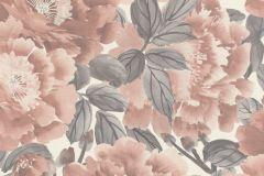 408331 cikkszámú tapéta.Virágmintás,fehér,lila,pink-rózsaszín,lemosható,vlies tapéta