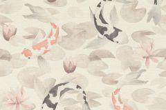 409420 cikkszámú tapéta.állatok,narancs-terrakotta,szürke,lemosható,vlies tapéta