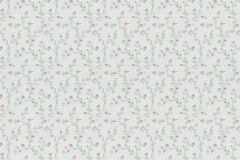 400922 cikkszámú tapéta.Természeti mintás,textilmintás,virágmintás,kék,pink-rózsaszín,zöld,súrolható,vlies tapéta