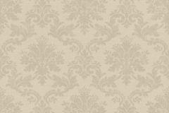 401400 cikkszámú tapéta.Barokk-klasszikus,textilmintás,barna,bézs-drapp,súrolható,vlies tapéta