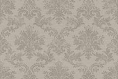 401431 cikkszámú tapéta.Barokk-klasszikus,textilmintás,szürke,súrolható,vlies tapéta
