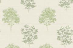 401530 cikkszámú tapéta.Fa hatású-fa mintás,természeti mintás,textilmintás,fehér,zöld,súrolható,vlies tapéta