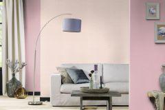 401868 cikkszámú tapéta.Egyszínű,textilmintás,pink-rózsaszín,súrolható,illesztés mentes,vlies tapéta
