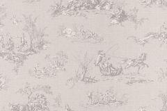 451849 cikkszámú tapéta.Emberek-sztárok,rajzolt,textilmintás,szürke,súrolható,vlies tapéta
