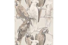 803105 cikkszámú tapéta.állatok,különleges motívumos,rajzolt,barna,bézs-drapp,vajszín,lemosható,vlies tapéta