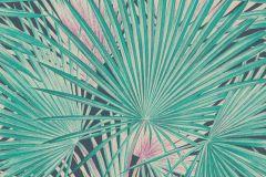 803327 cikkszámú tapéta.Absztrakt,különleges felületű,különleges motívumos,rajzolt,természeti mintás,fehér,pink-rózsaszín,szürke,türkiz,vajszín,lemosható,vlies tapéta