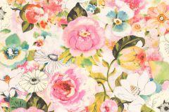 803549 cikkszámú tapéta.Absztrakt,különleges motívumos,rajzolt,retro,természeti mintás,virágmintás,fehér,kék,lila,narancs-terrakotta,pink-rózsaszín,piros-bordó,szürke,zöld,lemosható,vlies tapéta