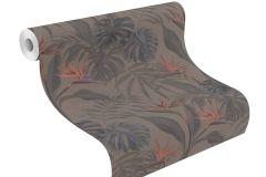 529043 cikkszámú tapéta.Különleges felületű,természeti mintás,barna,lila,pink-rózsaszín,lemosható,vlies tapéta