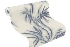 529104 cikkszámú tapéta.Különleges felületű,természeti mintás,kék,szürke,lemosható,vlies tapéta