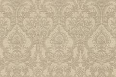 936018 cikkszámú tapéta.Barokk-klasszikus,különleges felületű,különleges motívumos,virágmintás,barna,szürke,lemosható,vlies tapéta