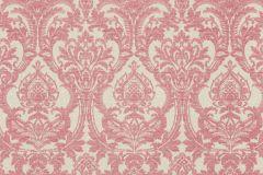 936032 cikkszámú tapéta.Barokk-klasszikus,különleges felületű,különleges motívumos,virágmintás,pink-rózsaszín,vajszín,lemosható,vlies tapéta