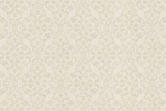 936506 cikkszámú tapéta.Barokk-klasszikus,különleges felületű,különleges motívumos,rajzolt,virágmintás,vajszín,lemosható,vlies tapéta