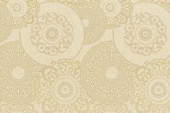 949742 cikkszámú tapéta.Különleges felületű,különleges motívumos,arany,bézs-drapp,lemosható,vlies tapéta