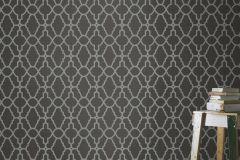 309348 cikkszámú tapéta.Absztrakt,különleges felületű,marokkói ,fehér,szürke,lemosható,papír tapéta