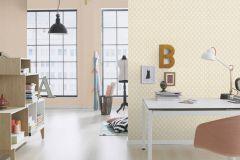 433616 cikkszámú tapéta.Absztrakt,különleges felületű,bézs-drapp,pink-rózsaszín,lemosható,vlies tapéta