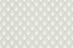 433647 cikkszámú tapéta.Absztrakt,különleges felületű,fehér,szürke,lemosható,vlies tapéta