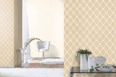 433913 cikkszámú tapéta.Absztrakt,különleges felületű,marokkói ,arany,bézs-drapp,lemosható,vlies tapéta