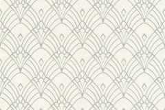 433937 cikkszámú tapéta.Absztrakt,különleges felületű,marokkói ,ezüst,fehér,szürke,lemosható,vlies tapéta