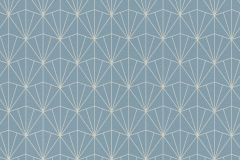 434057 cikkszámú tapéta.Absztrakt,különleges felületű,kék,szürke,lemosható,vlies tapéta