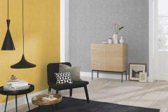 489910 cikkszámú tapéta.Egyszínű,különleges felületű,sárga,lemosható,illesztés mentes,vlies tapéta