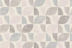 519815 cikkszámú tapéta.Absztrakt,különleges felületű,retro,barna,bézs-drapp,kék,pink-rózsaszín,szürke,lemosható,vlies tapéta