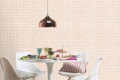 610734 cikkszámú tapéta.Absztrakt,geometriai mintás,különleges felületű,arany,pink-rózsaszín,lemosható,vlies tapéta