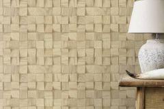 624823 cikkszámú tapéta.3d hatású,fa hatású-fa mintás,különleges felületű,barna,bézs-drapp,sárga,lemosható,vlies tapéta