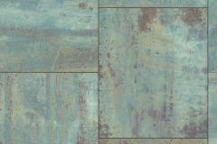318012 cikkszámú tapéta.Fémhatású - indusztriális,kőhatású-kőmintás,barna,szürke,türkiz,lemosható,vlies tapéta