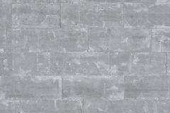 414622 cikkszámú tapéta.Kőhatású-kőmintás,szürke,lemosható,vlies tapéta