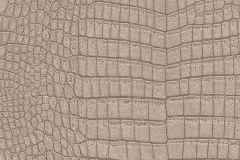 475722 cikkszámú tapéta.állatok,bőr hatású,barna,bézs-drapp,lemosható,vlies tapéta