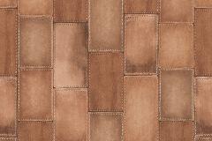 475845 cikkszámú tapéta.Bőr hatású,barna,bézs-drapp,lemosható,vlies tapéta