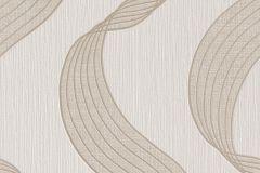 886023 cikkszámú tapéta.3d hatású,geometriai mintás,barna,bézs-drapp,lemosható,vlies tapéta