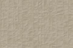 605549 cikkszámú tapéta.Absztrakt,geometriai mintás,különleges felületű,bronz,lemosható,vlies tapéta