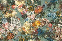 605655 cikkszámú tapéta.Különleges felületű,természeti mintás,virágmintás,bézs-drapp,kék,lila,narancs-terrakotta,pink-rózsaszín,piros-bordó,sárga,szürke,türkiz,vajszín,zöld,lemosható,vlies tapéta