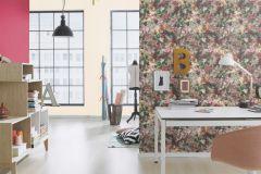 605952 cikkszámú tapéta.Csíkos,különleges felületű,retro,pink-rózsaszín,lemosható,illesztés mentes,vlies tapéta